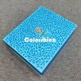 Boîte-cadeau se pliante bleue de papier classique d'emballage de Cosmtic avec