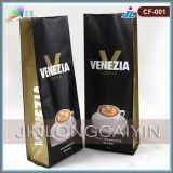 Кофеего печатание изготовления мешок оптового изготовленный на заказ упаковывая