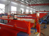 De plastic Lopende band van de Matten van de Vloer, Het Tapijt die van de Materialen van pvc Machine maken