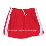 Верхняя часть Healong продавая юбки Lacrosse повелительниц сублимации