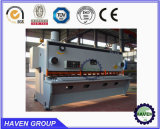QC12K-16X2500 CNC hydraulische Swing Beam Shearing en Cutting Machine