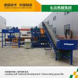 Máquina de fatura de tijolo da capacidade Qt4-25 elevada maquinaria nova