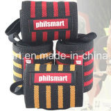 New Arrival Custom Crossfit Padded Power Weight Lifting Wrist Straps