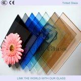 青銅または深緑色/F緑または濃紺かフォードの青いですかヨーロッパの灰色かダークグレーまたはピンクのフロートガラス