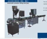 Catena d'imballaggio automatica della polvere con la capsulatrice