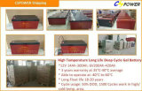 Batteria solare ricaricabile 12V200ah (HTL12-200AH) del gel del fornitore della Cina