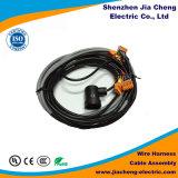 Câble équipé fait sur commande de harnais de câblage d'énergie électrique