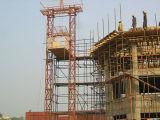 Construção da grua