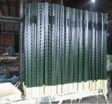 1.33lb/FT 미국 녹색 그려진 장식용 목을 박은 T 바 담 포스트 또는 장식용 목을 박은 T 포스트