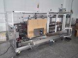 Montador caliente del cartón del pegamento del derretimiento del acero inoxidable con el sellador inferior