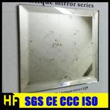 grands miroirs d'antiquité de miroir de mur de décoration de 3-12mm