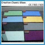 Vidrio Reflexivo Bajo-e de 5mm para los Edificios con Ce y ISO9001