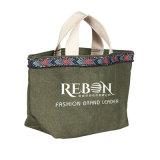 方法様式の有機性綿袋の再生利用できるショッピング綿のキャンバスのトートバック