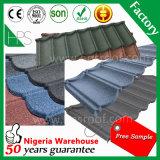 Material de construção de pedra da folha da telhadura da telha e do metal
