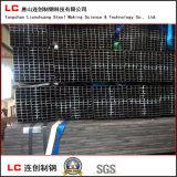 Труба ехпортированная Корея горячей черноты сбывания прямоугольная стальная