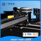 O dobro quente da venda posta a estaca do laser e a máquina de gravura