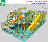 Castillo travieso de la diversión de interior del patio de los cabritos (BJ-IP2014001)