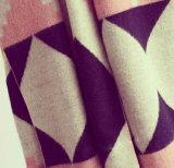 Sciarpe geometriche di colore di periodo delle lane di prima scelta