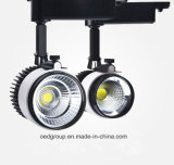 20W LED Track Lighting para Clothes Shop