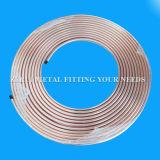 Tipo aislante de tubo de cobre de ASTM B819 de K para el gas médico