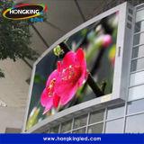 Pantalla de visualización a todo color al aire libre de alquiler de LED de la alta calidad P10