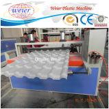 Transparentes Dach-Blatt-gewölbtes Haustier-Dach-Blatt, das Maschine herstellt