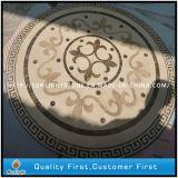 Patroon van het Medaillon van het Inlegsel van het Medaillon van de Straal van het water het Marmeren