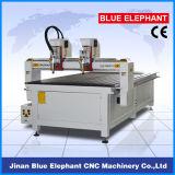máquina de madeira do CNC do router 3D com 2 eixos