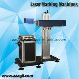 비닐 봉투에 인쇄를 위한 휴대용 소형 광섬유 Laser 표하기 기계