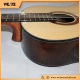 Guitarra clássica da parte traseira Spruce do Rosewood da parte superior da madeira compensada com preços baratos