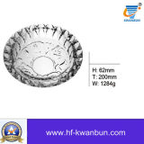 Qualitäts-runde Glasaschenbecher-Glaswaren Kb-Jh06156