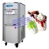 Máquina macia do gelado do arco-íris de 3 sabores