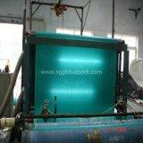 Tissu plat tissé par pp vert réutilisé de Chine
