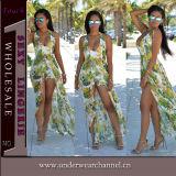 2017人の女性の方法夏浜の摩耗のBohoのマキシの服(TSN0479)