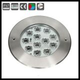 Wasserdichtes 12*1W 12*3W LED Inground Garten-Licht DC24V