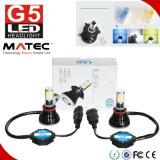 Alto indicatore luminoso H4 H7 9005 dell'automobile della PANNOCCHIA LED di lumen 80W 8000lm G5 un faro di 9006 H11 LED