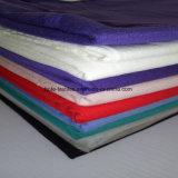 ファブリックまたは綿織物かジャージーの単一の純粋な綿または編まれたファブリック