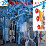 ハングの懸垂線状の連続的なショットブラスト機械