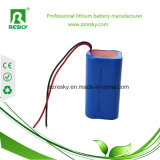 Bloco da bateria de LiFePO4 12V 3ah para a segadeira de gramado e o dispositivo médico