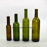 Bottiglia di vino verde e libera del Bordeaux con 200ml, 3750ml, 500ml, 750ml