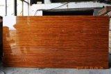 中東の市場への構築のためのエクスポートされた等級高い光沢のあるPVC上塗を施してある合板