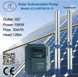 bomba solar centrífuga submergível do aço 6sp30-16 inoxidável
