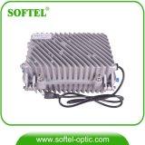 Amplificateur extérieur de la servocommande rf de câble de joncteur réseau de CATV avec le chemin de renvoi