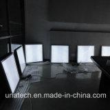 Los anuncios escogen el rectángulo ligero echado a un lado del letrero delgado rápido del marco LED