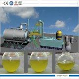 A refinação plástica para olear a máquina da pirólise remove a cera do petróleo