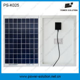 12V Solar Fan in 10W Zonnepaneel System met 3 LED Lights en Mobile Phone Charging