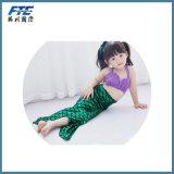 Biquini do miúdo do Swimsuit do terno de banho da sereia das crianças