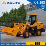 Lader 920 van het Wiel van de Tractor van het landbouwbedrijf Kleine Compacte Hydraulische voor Verkoop