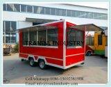 Im Freien Schnellimbiss-mobiler Küche-Schlussteil mit kleinem Nahrungsmittelverkauf-Kiosk