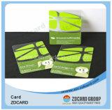Contact van identiteitskaart van pvc van het Ontwerp van de douane het Plastic/de Lege Chipkaart Zonder contact van